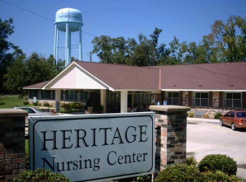 Heritage Nursing Center in Haynesville, LA